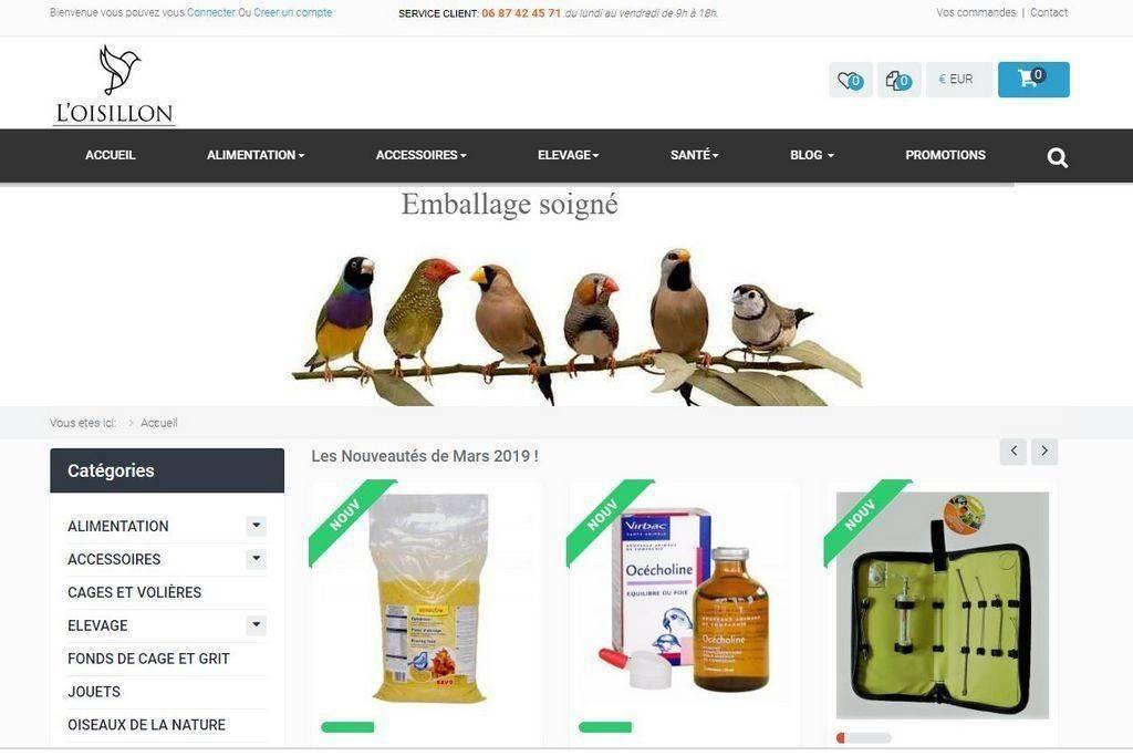 Boutique Oiseaux Loisillon 1024X683