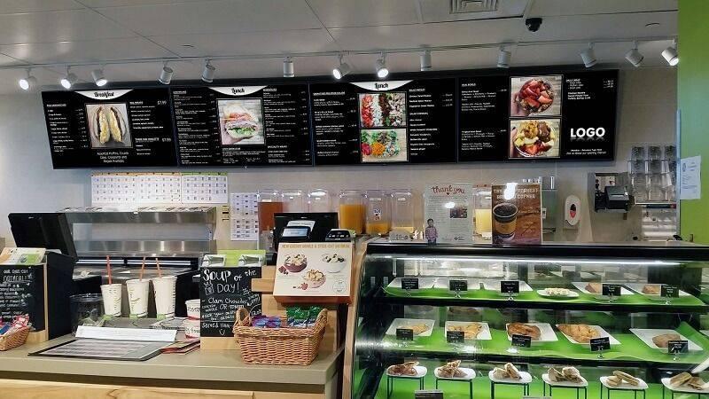 Menus Board Dynamiques pour snack et fast food